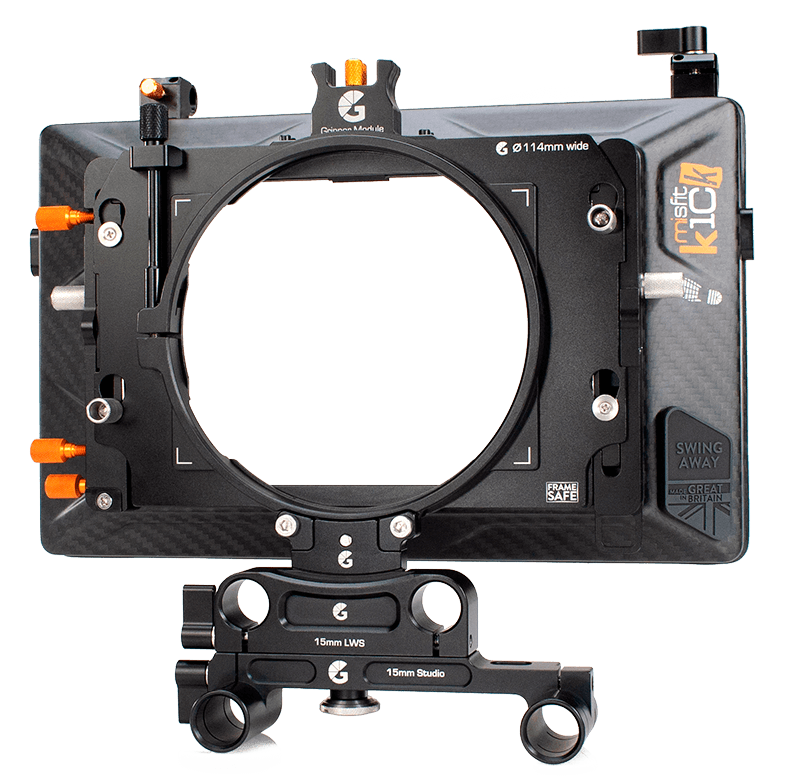 Misfit Kick w 15mm Studio 114mm Clamp Adapter
